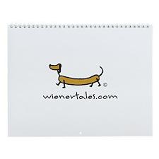 Unique Weiner dog Wall Calendar