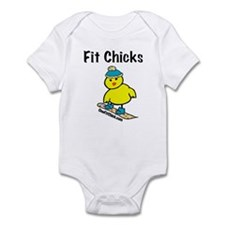 FIt Chicks Infant Bodysuit