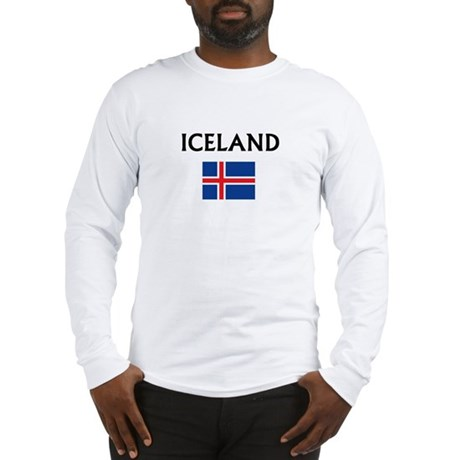 icelandflag Long Sleeve T-Shirt