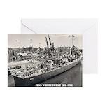 USS WHITEHURST Greeting Cards (Pk of 20)