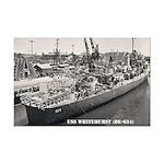 USS WHITEHURST Mini Poster Print