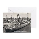 USS WHITEHURST Greeting Cards (Pk of 10)