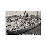 USS WHITEHURST Rectangle Magnet (100 pack)