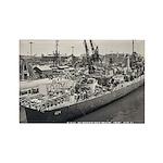 USS WHITEHURST Rectangle Magnet (10 pack)