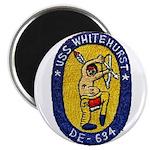 """USS WHITEHURST 2.25"""" Magnet (10 pack)"""