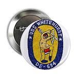 """USS WHITEHURST 2.25"""" Button"""