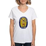 USS WHITEHURST Women's V-Neck T-Shirt