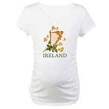 Ireland - Golden Irish Harp Shirt