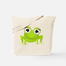 Girlie Girl Frog Frogette Tote Bag