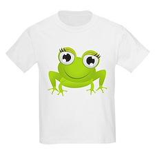 Girlie Girl Frog Frogette T-Shirt