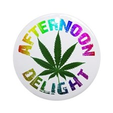 Afternoon Delight Ornament (Round)