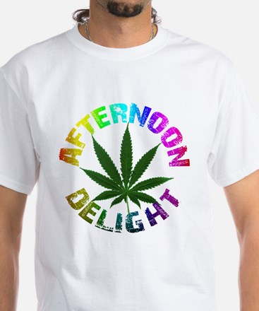 Afternoon Delight White T-Shirt