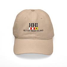 Hilton Head Island SC - Nautical Design Baseball Baseball Cap