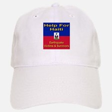Help For Haiti Baseball Baseball Cap