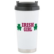 Irish girl Travel Coffee Mug