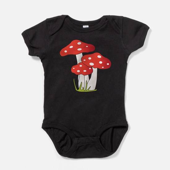 Polka Dot Mushrooms Body Suit