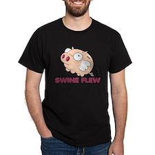"Swine Flew ""Flu"" T-Shirt"