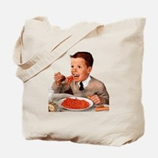 Creepy Ginger Kid Tote Bag
