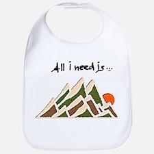 Need Mountains Bib