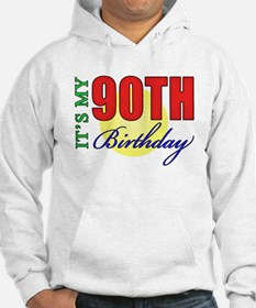 90th Birthday Party Hoodie