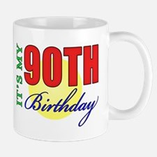 90th Birthday Party Mug