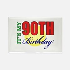 90th Birthday Party Rectangle Magnet
