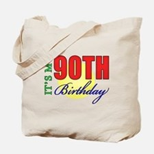 90th Birthday Party Tote Bag