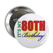 "80th Birthday Party 2.25"" Button"