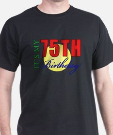 75th Birthday Party T-Shirt