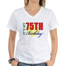75th Birthday Party Shirt