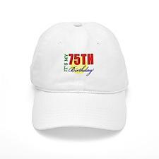 75th Birthday Party Baseball Cap