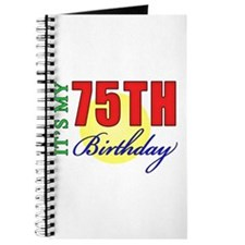 75th Birthday Party Journal