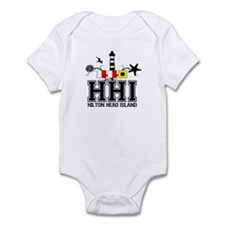 Hilton Head Island SC - Lighthouse Design Onesie