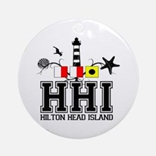 Hilton Head Island SC - Lighthouse Design Ornament