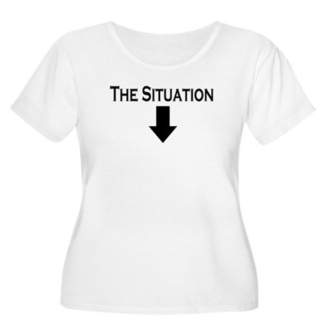 The Situation Women's Plus Size Scoop Neck T-Shirt