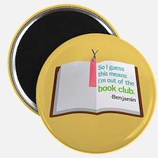 Lost Book Club Magnet