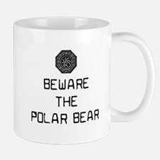 Beware the polar bear Mug