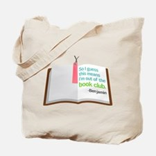 Lost Book Club Tote Bag