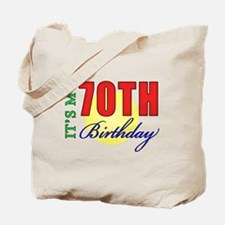 70th Birthday Party Tote Bag