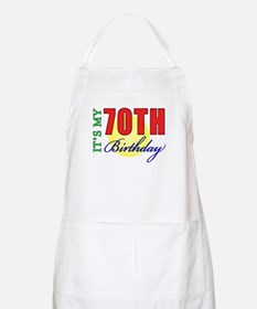 70th Birthday Party Apron