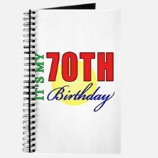 70th Birthday Party Journal