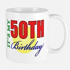 50th Birthday Party Mug