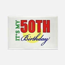 50th Birthday Party Rectangle Magnet