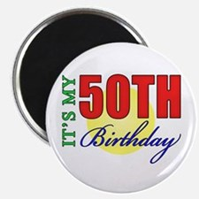 50th Birthday Party Magnet