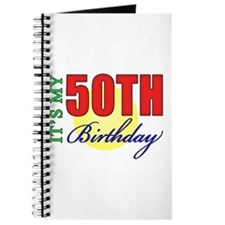 50th Birthday Party Journal