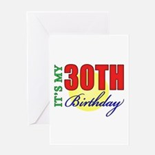 30th Birthday Party Greeting Card