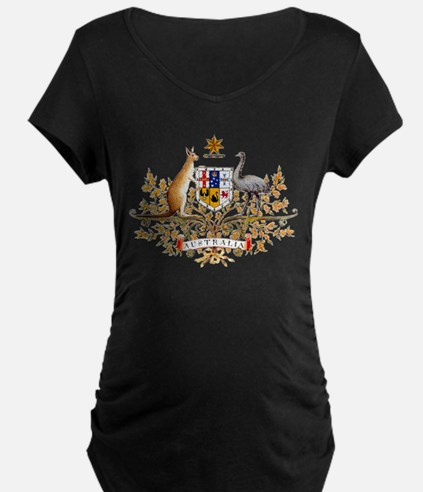 Australia Coat of Arms (Front) T-Shirt