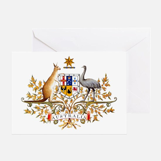 Australia Coat of Arms Greeting Card