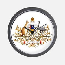 Australia Coat of Arms Wall Clock