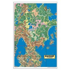 Garweeze Wurld Topographical Map